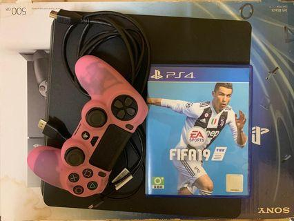 Playstation 4 including FIFA 19