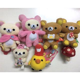 *7-11便利店*2011年日本鬆弛熊公仔掛飾