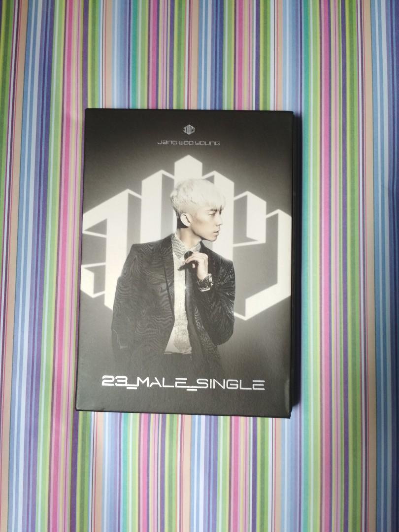 2PM Jang Woo Young Mini Album 23,Male,Single Silver Version