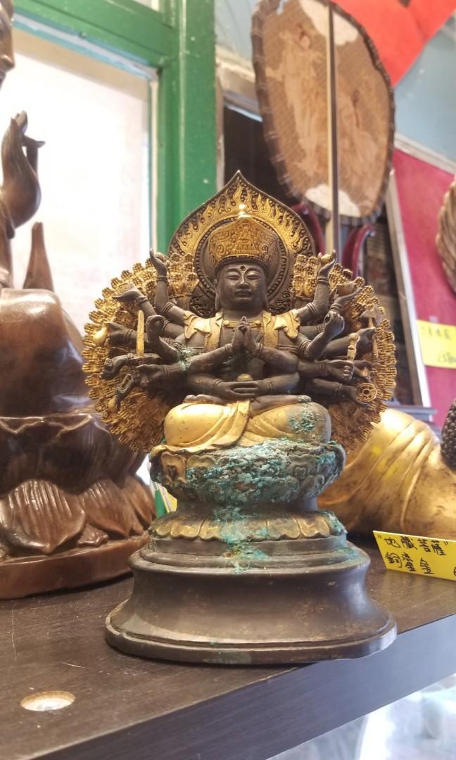 銅鎏金#地藏菩薩