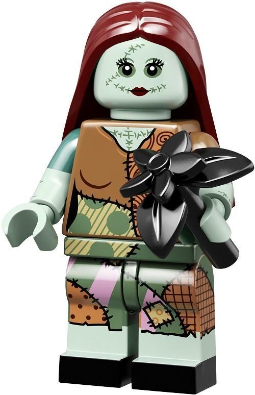 全新開袋確認 full set Lego 71024 lego Disney Series 2 迪士尼人仔 no.15 怪誕城之夜 女主角 Sally   , 有蛋紙 和 蛋袋 , 齊底板 配件。