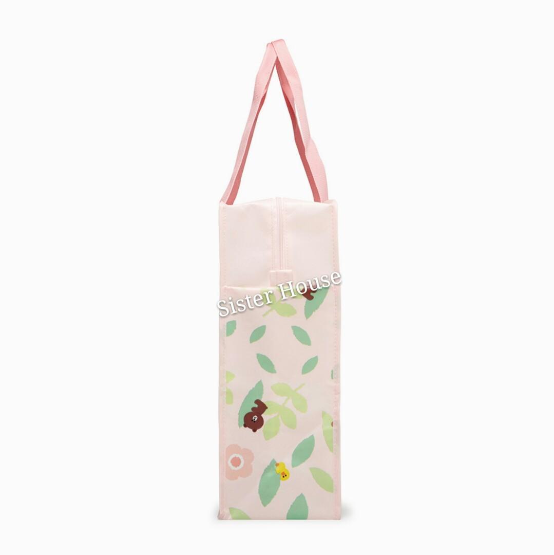 🇰🇷 LINE Friends Brown Sally Picnic Bag 熊大莎莉旅行袋