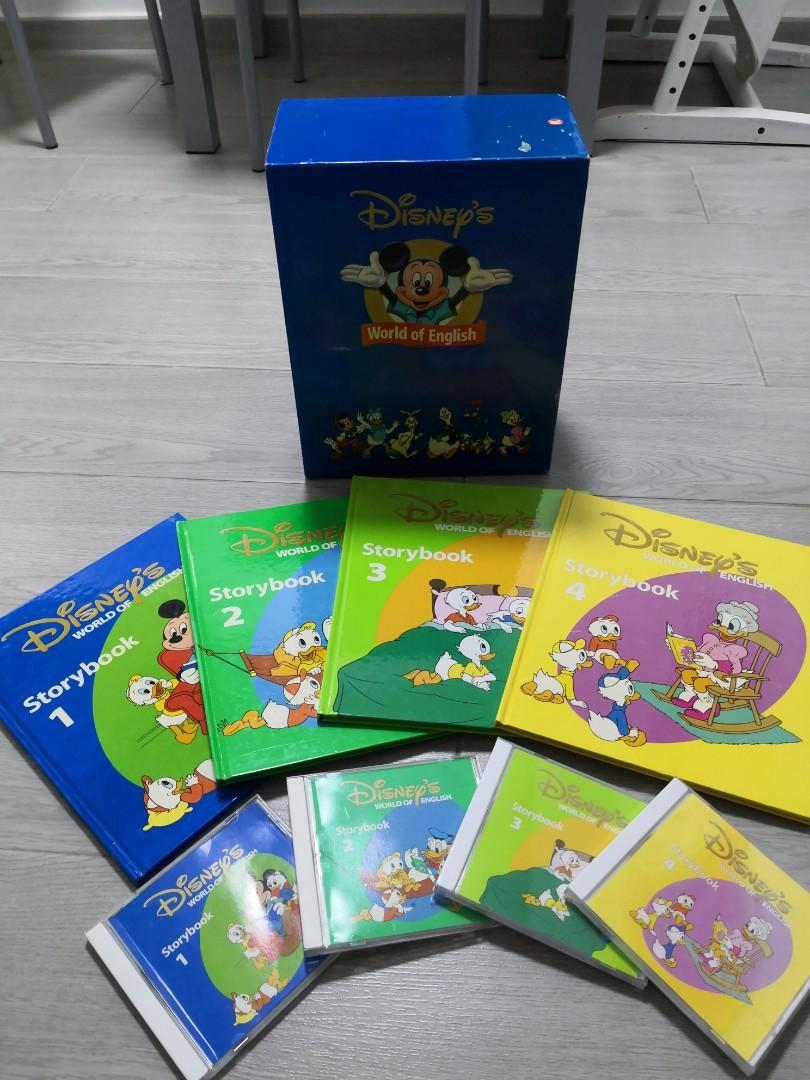 Disney 迪士尼美語世界 storybook1-4