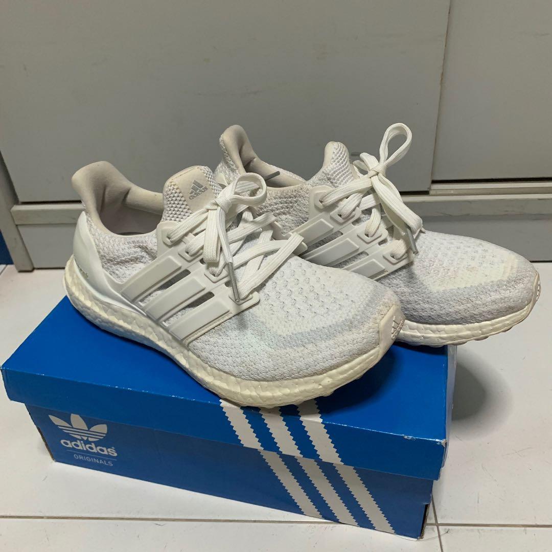 Adidas Ultraboost Triple White Women UK4