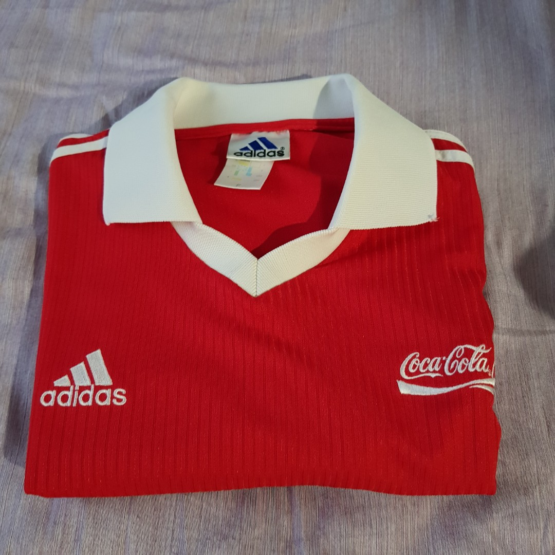 new product ce5a5 3d799 Adidas x Coca-cola Jersey