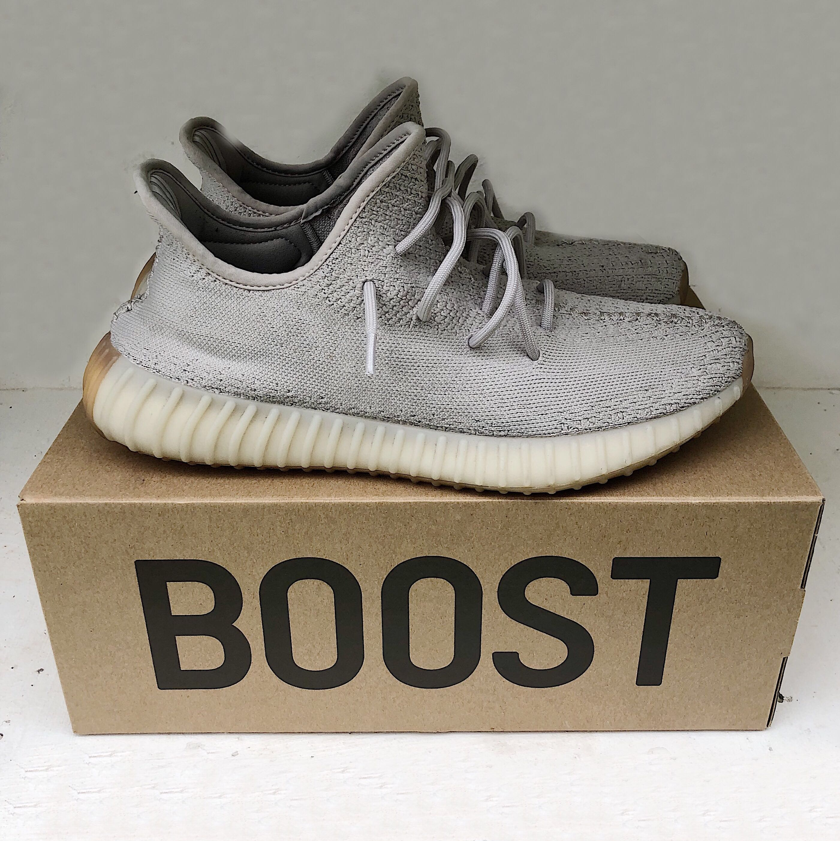 brand new 21b01 8a13b Adidas Yeezy Boost 350 sesame for sale