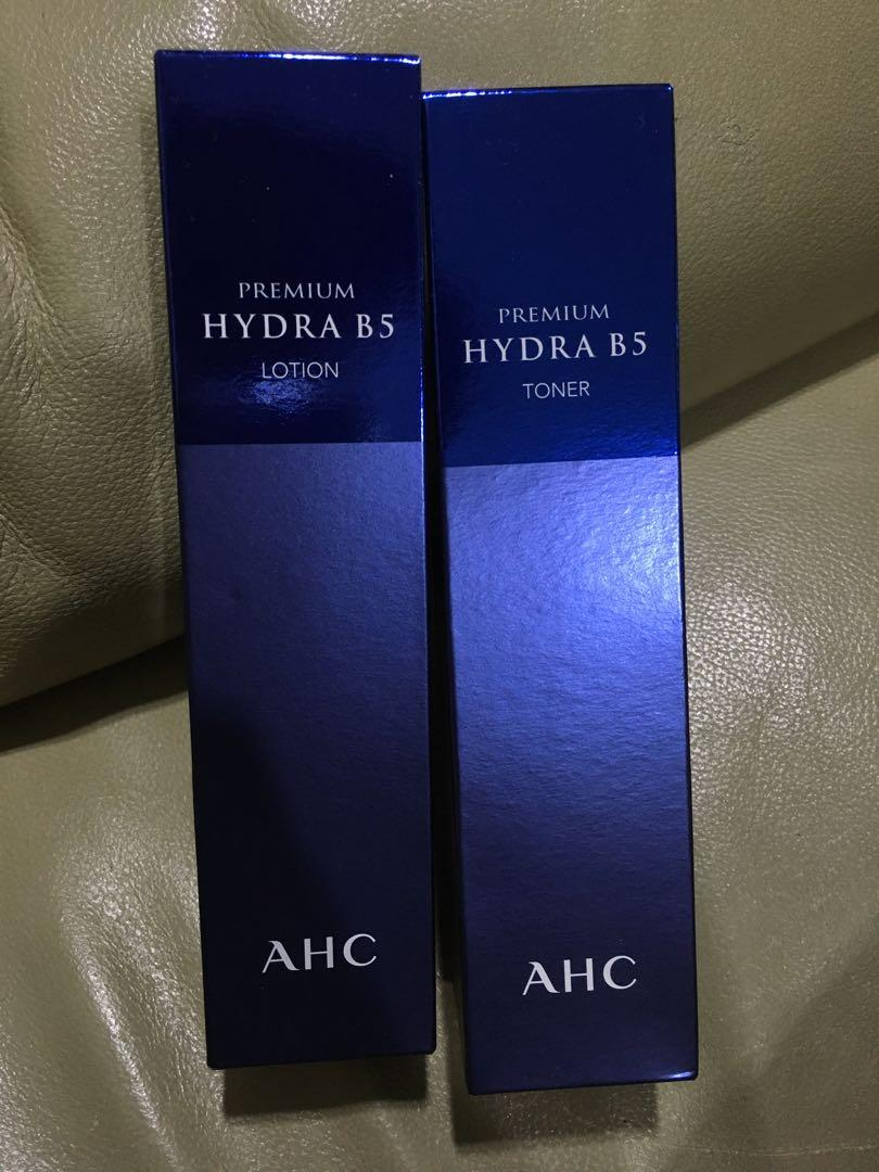 AHC Lotion+TONER