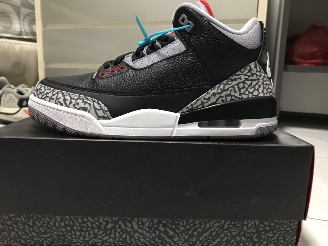 466b92196ec5 Air Jordan 3 Retro OG Black Cement