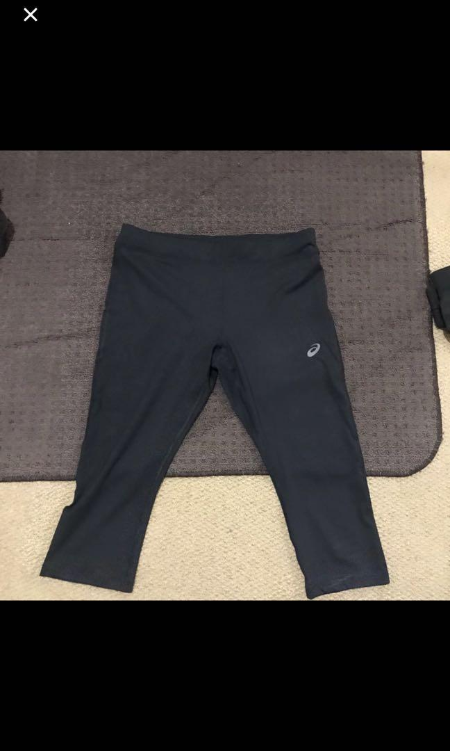 ASICS Size 12 3/4 Tights