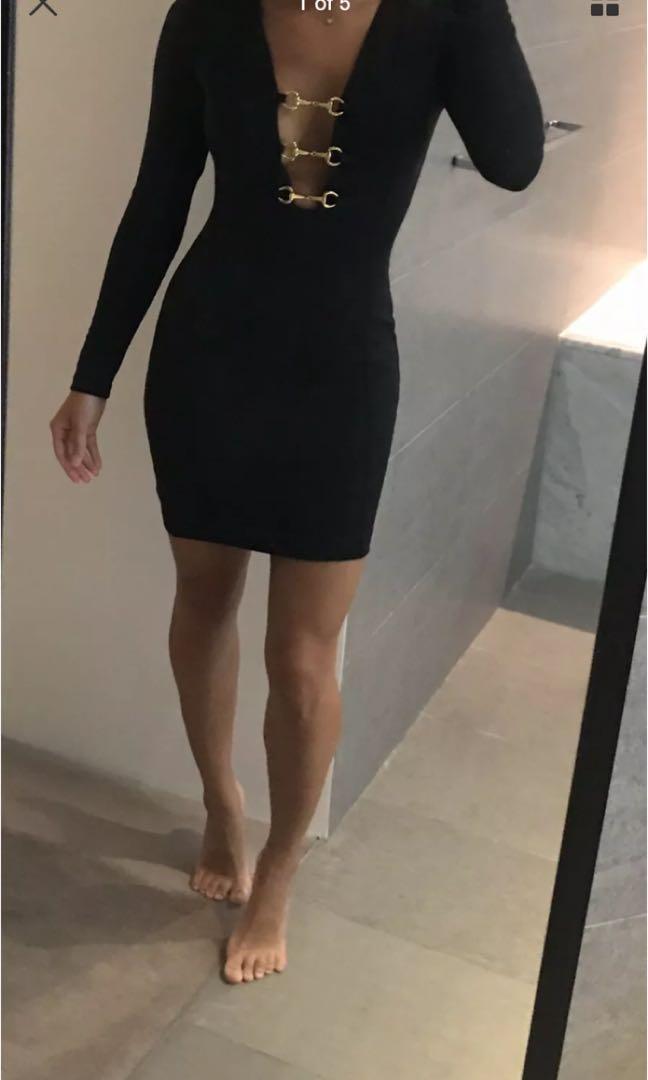 ASOS petite long sleeve dress xs or 6