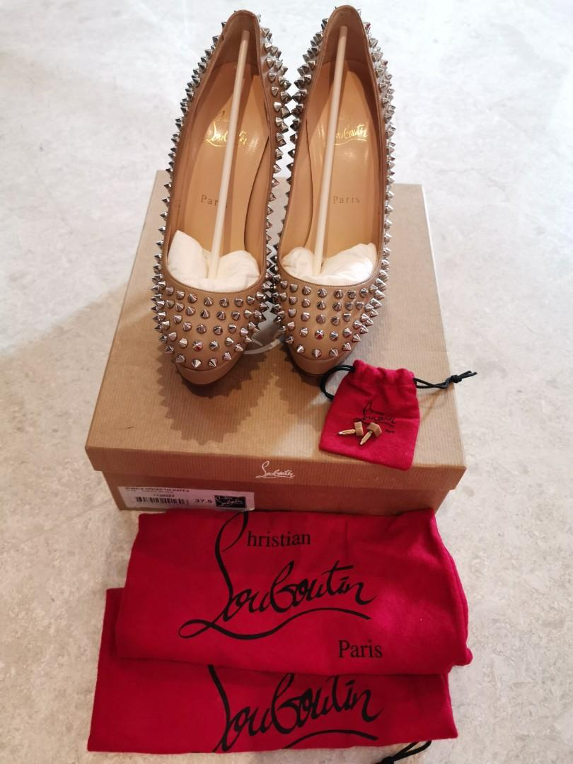 50% off Authentic Christian louboutin bianca