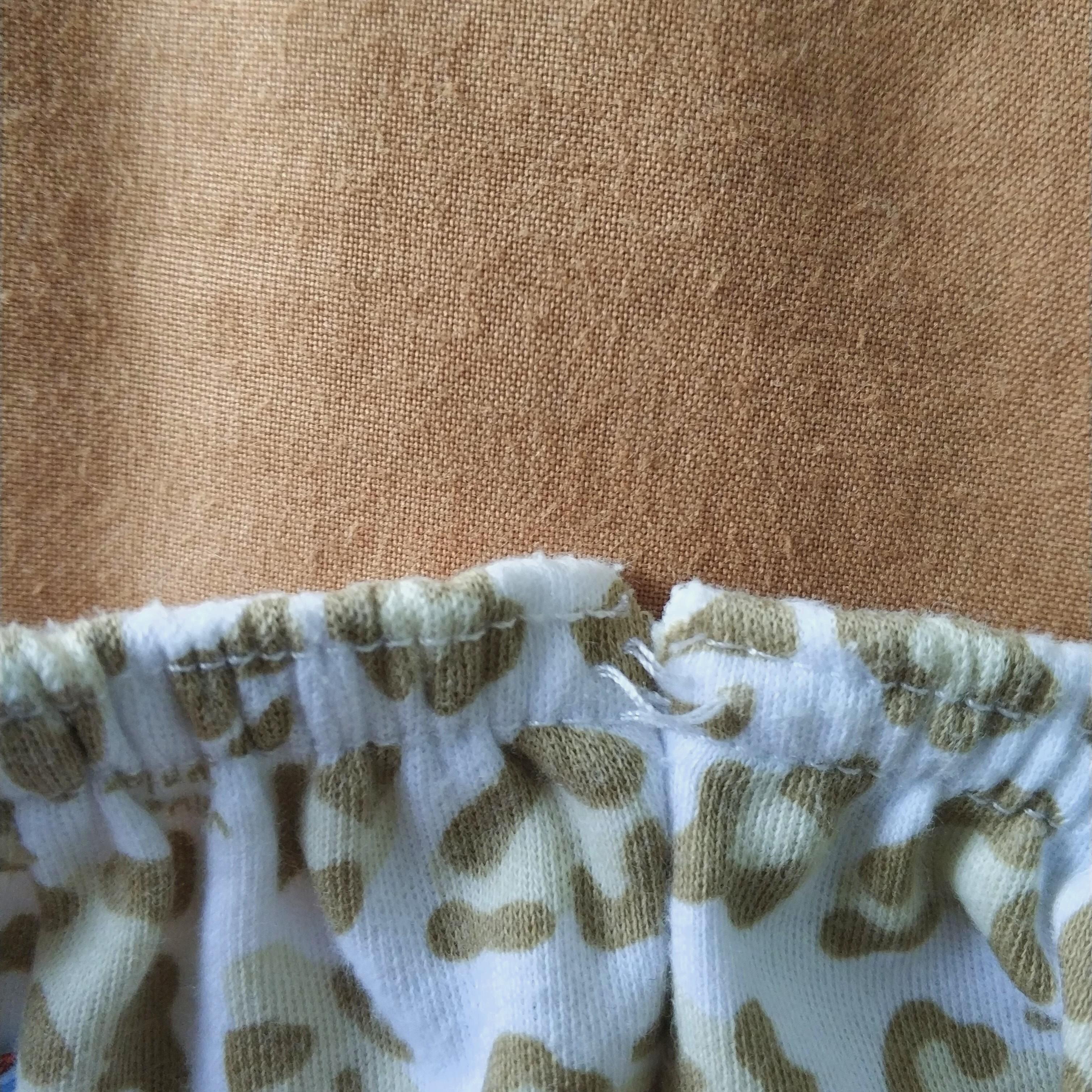 Baju bayi panjang velvet