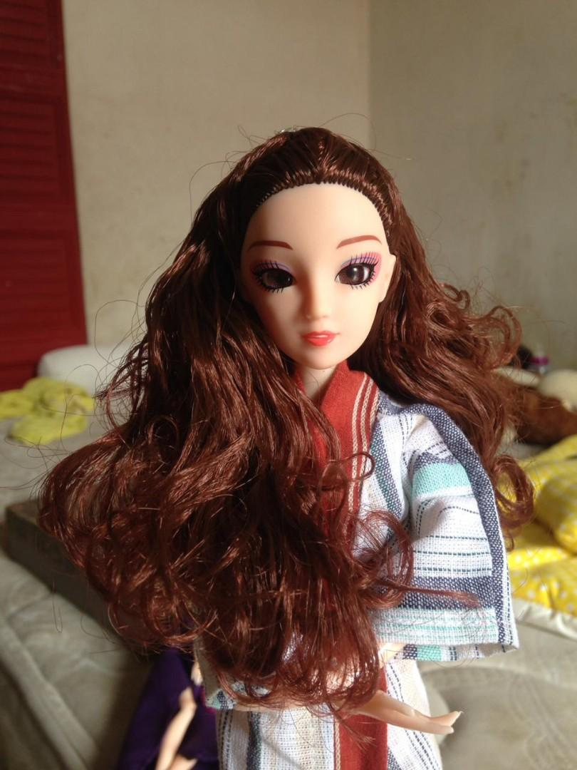 Barbie pavotal kimono