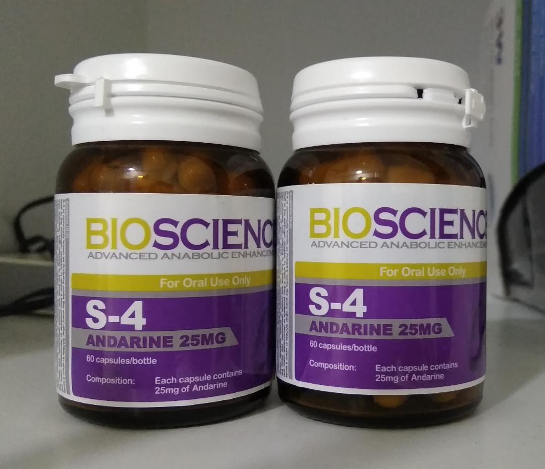 Bioscience sarm S4, Produk Badan dan kecantikan, Produk Lelaki di