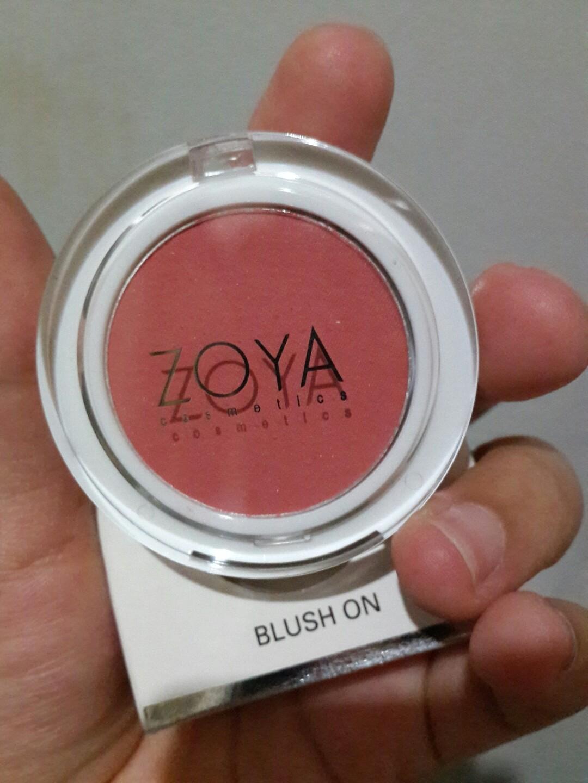 Blush on zoya new