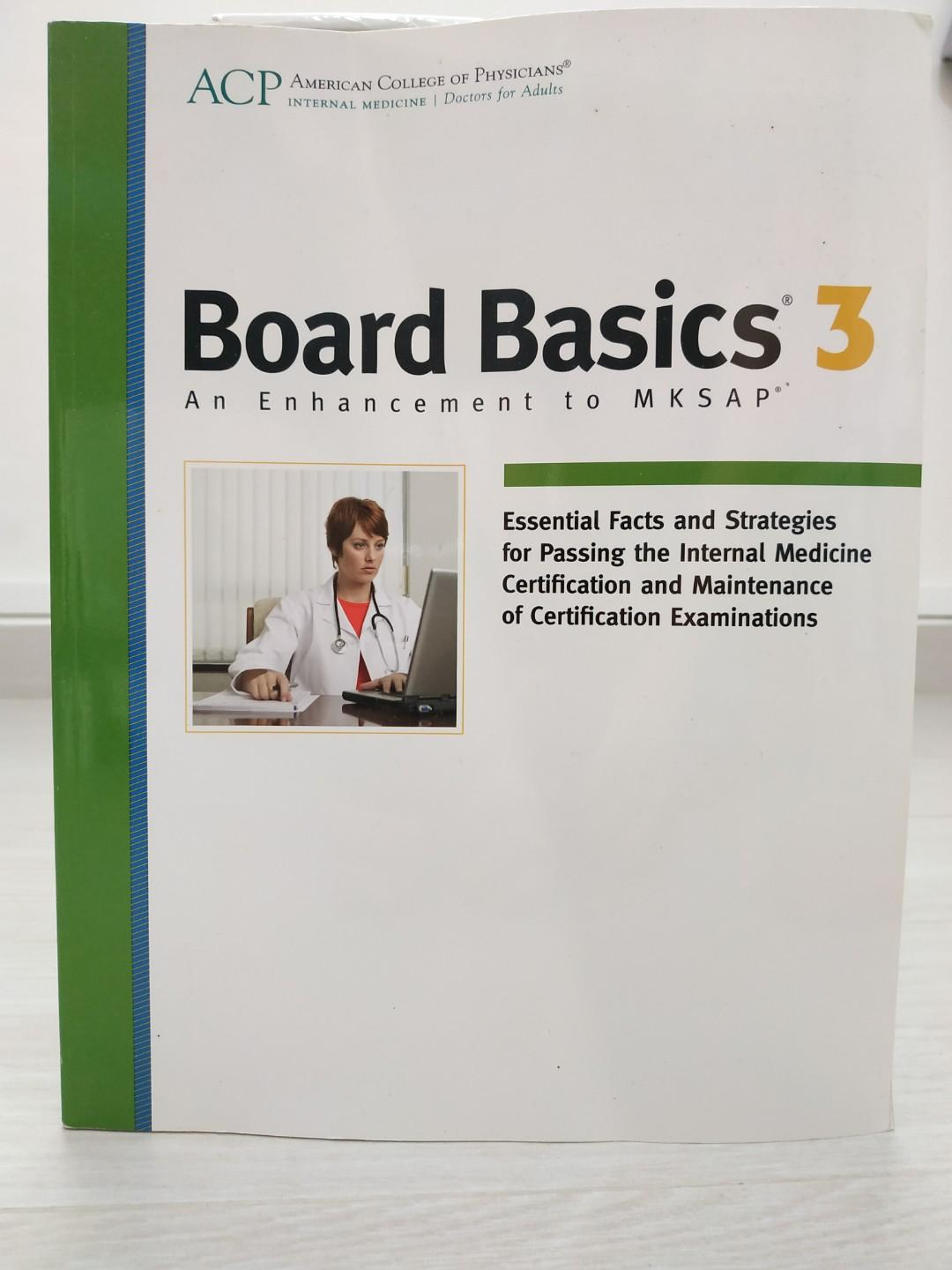 Board Basics 3 -- An Enhancement to MKSAP, Books