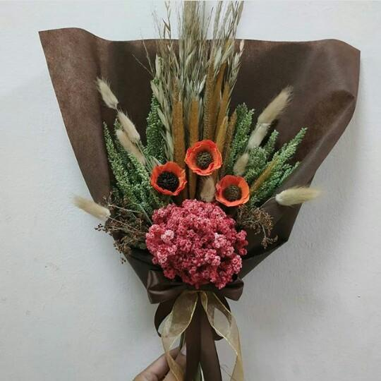 Bouquet Flowers Kemapan