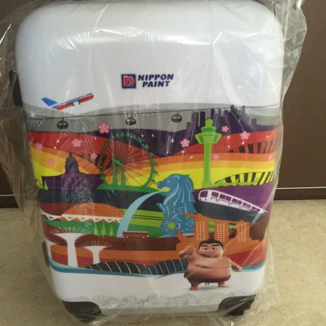 "Brand New Nippon Paint SG50 20"" Hardcase 4-wheel Luggage"