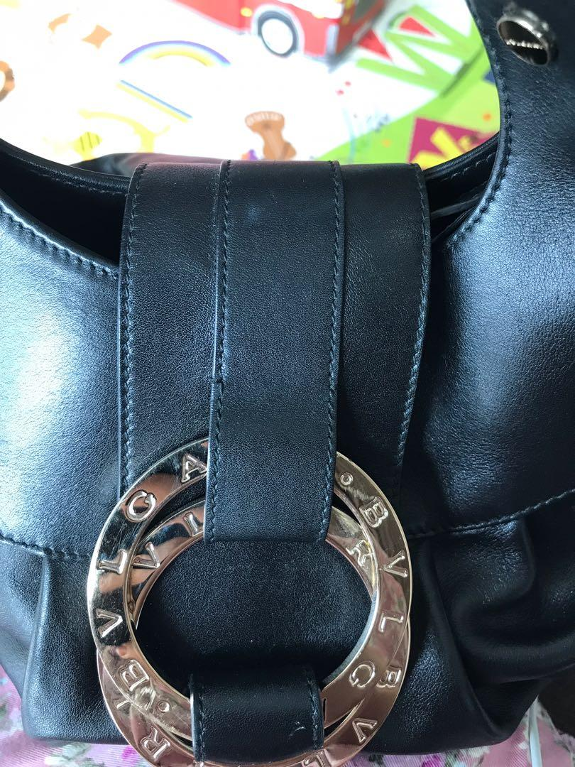 Bvlgari Chandra Bag BLACK Original