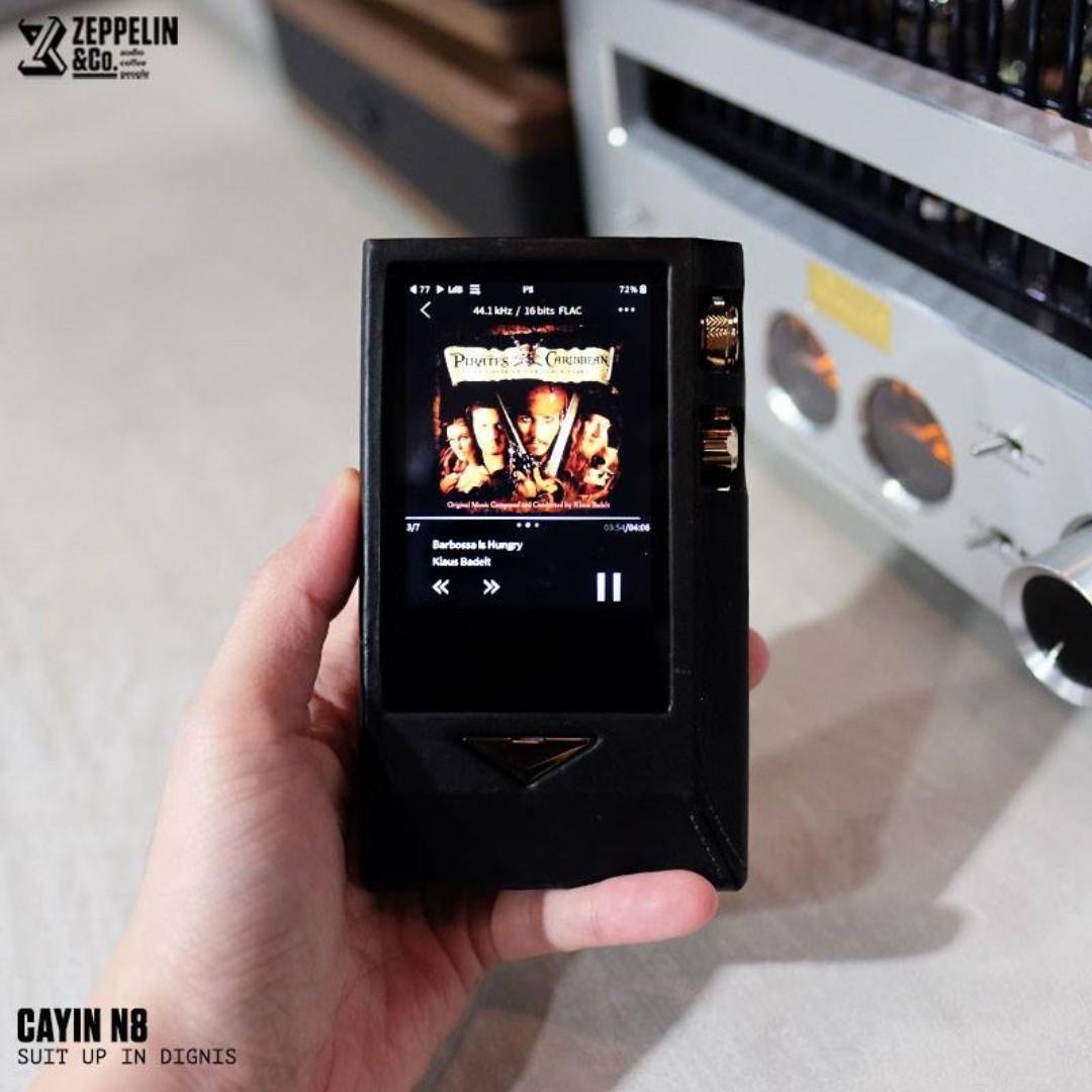 CAYIN | N8 Brass Black