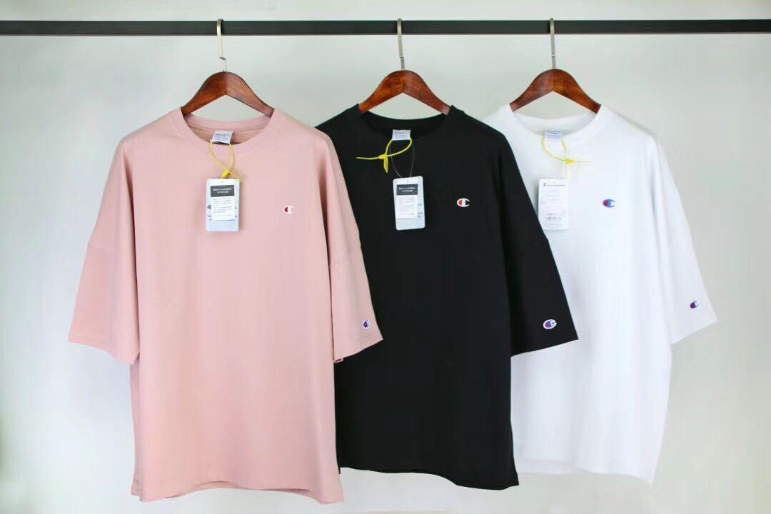Champion Back Logo Tee