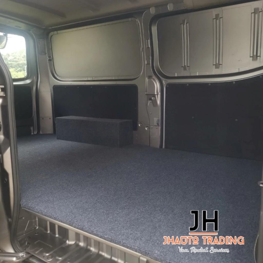 Cheap Van Rental - NISSAN NV350 (M)