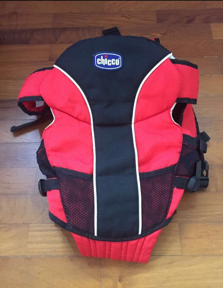 Chicco Baby Carrier Red Black