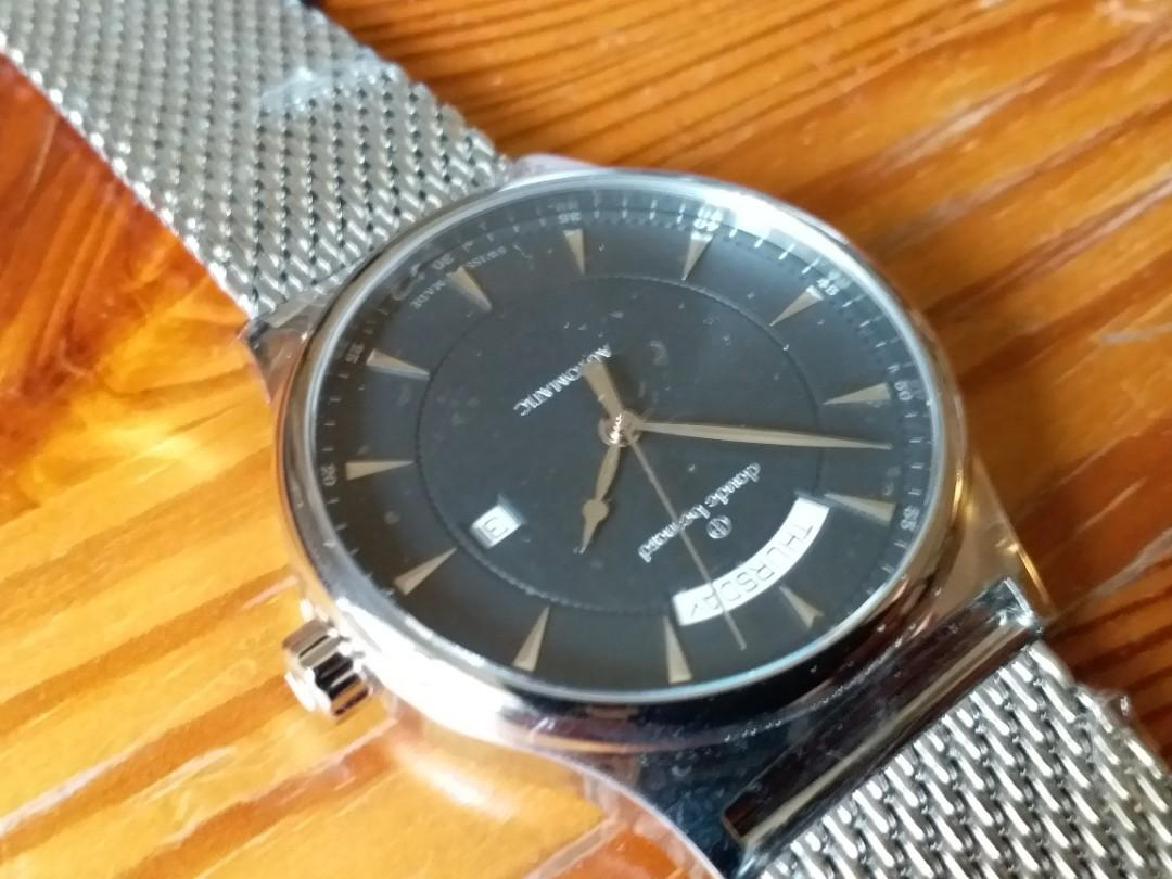 Claude Bernard 歌貝勒 Swiss Made , Automatic,  42mm, Brand New with original box.