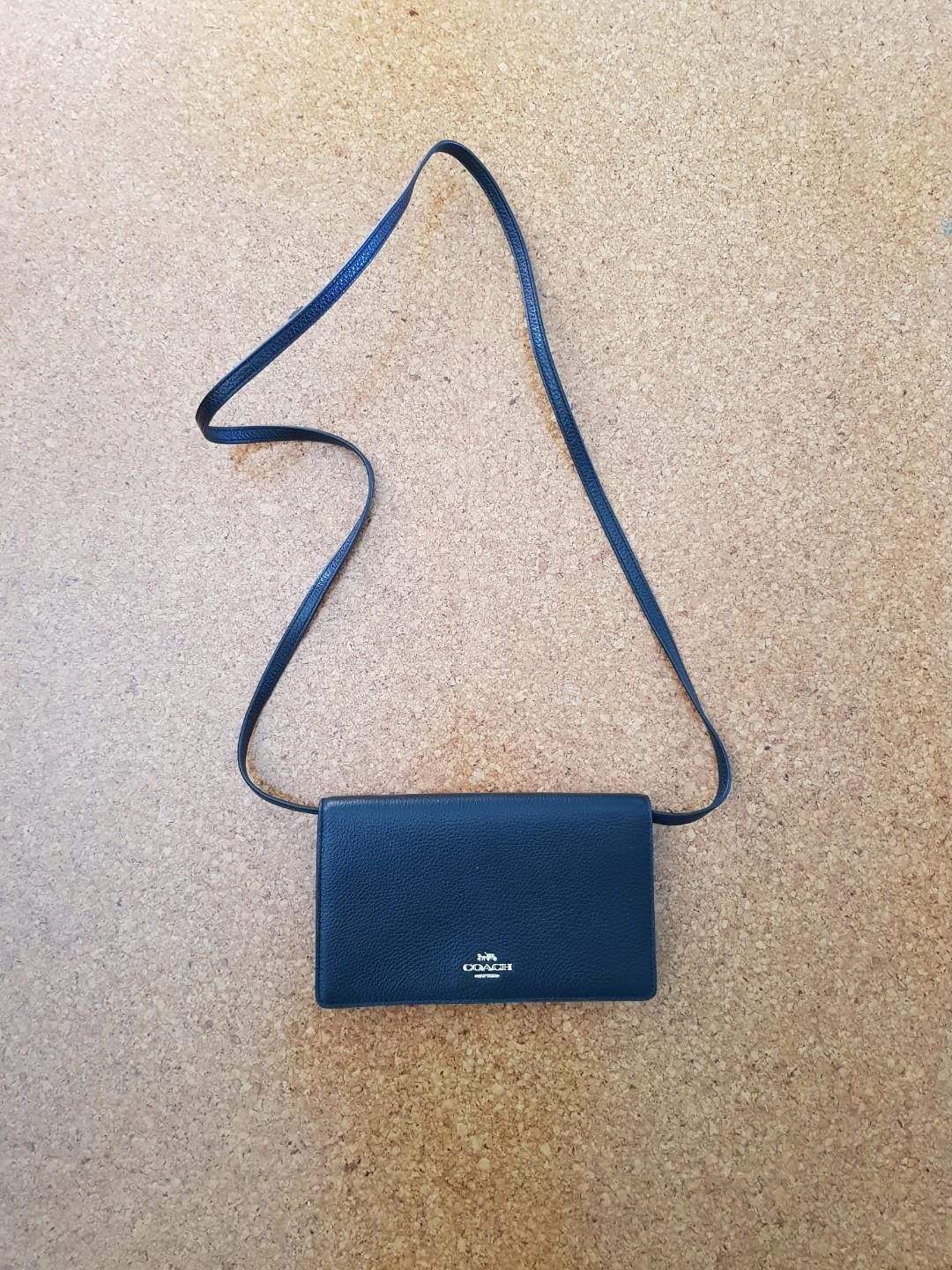Coach Crossbody Bag (Black)