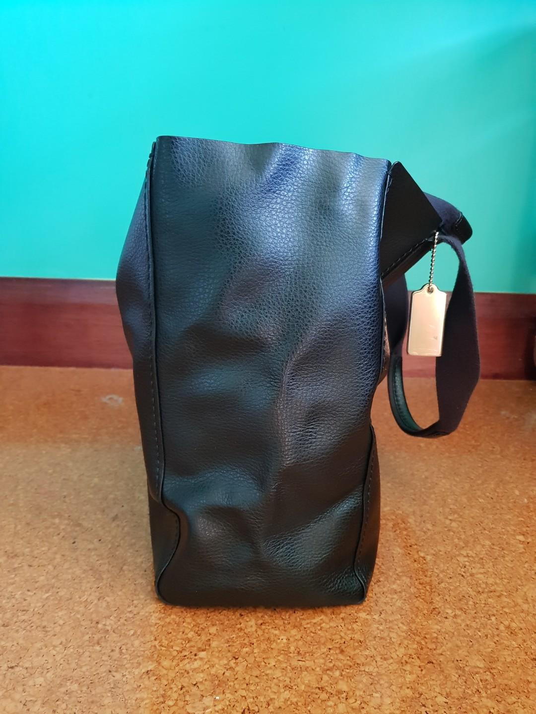 Coach Derby Tote Bag Black