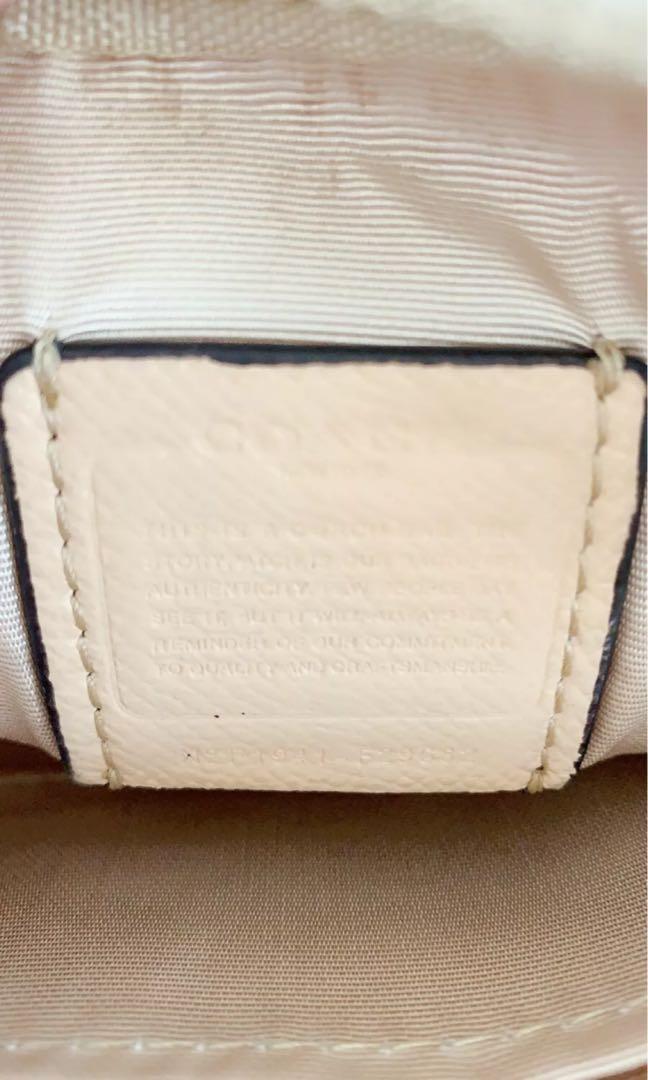 Coach Western Heart Camera Turquoise Cross Body Bag