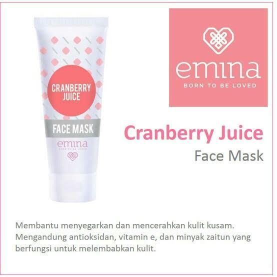 Emina Cranberry Juice Masker