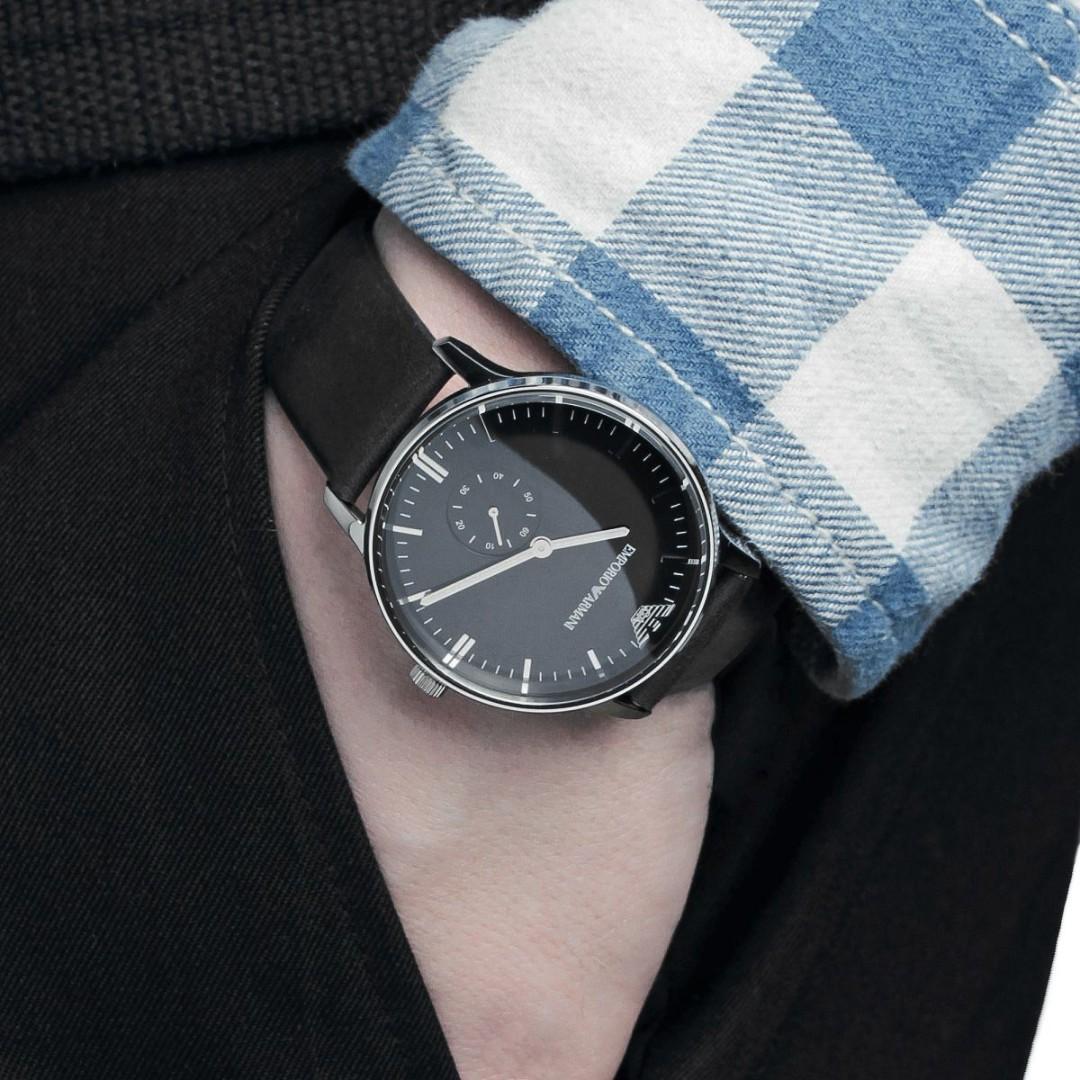 Emporio Armani Men's AR0382 Watch