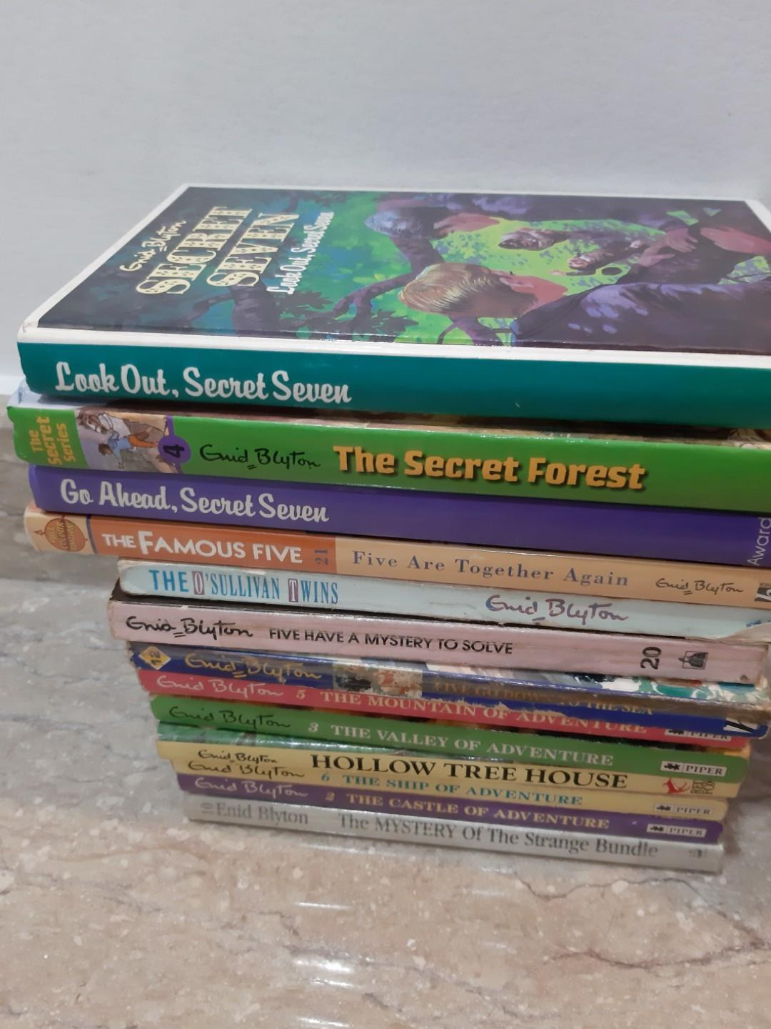 Enid Blyton children's books #EndgameYourExcess