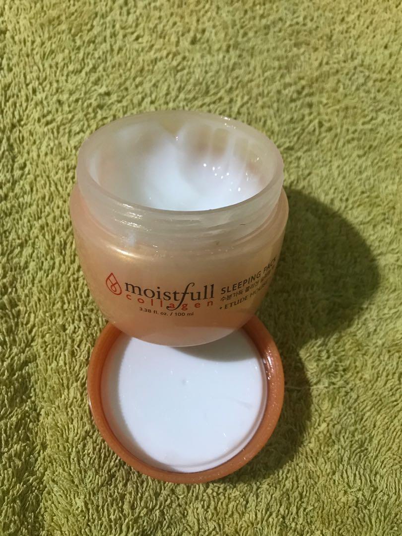 Etude moistfull collagen sleeping pack