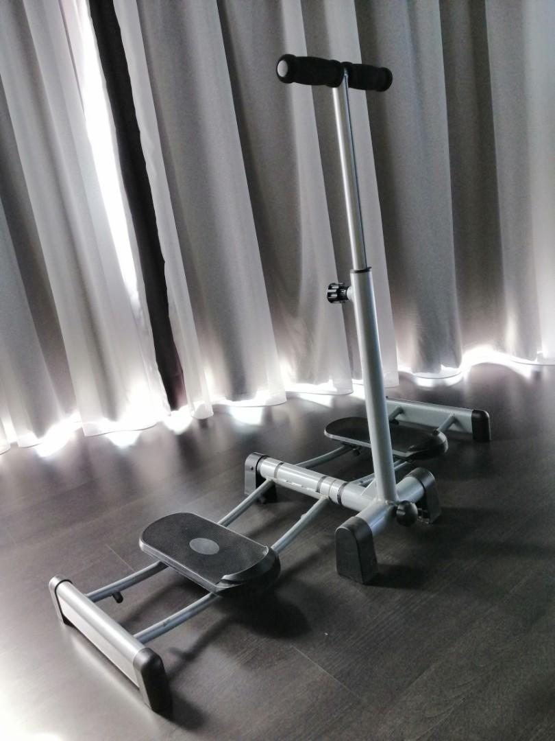 Exercise Cardio Fitness Stepper Workout