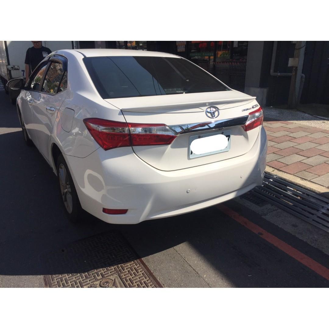 【FB搜尋桃園阿承】豐田 超人氣ALTIS 2014年 1.8 白色 二手車 中古車