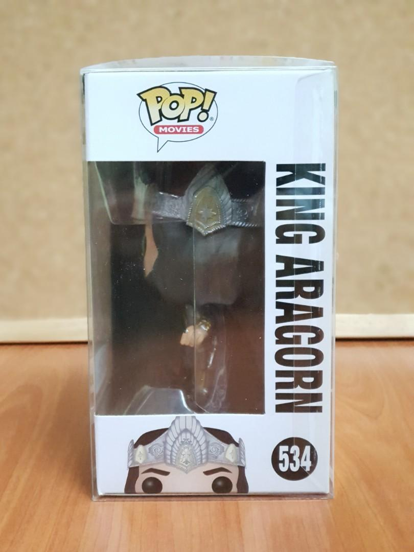 Funko Pop Movies : Lord of the Rings - King Aragorn ( Toys R Us Exclusive ) #534