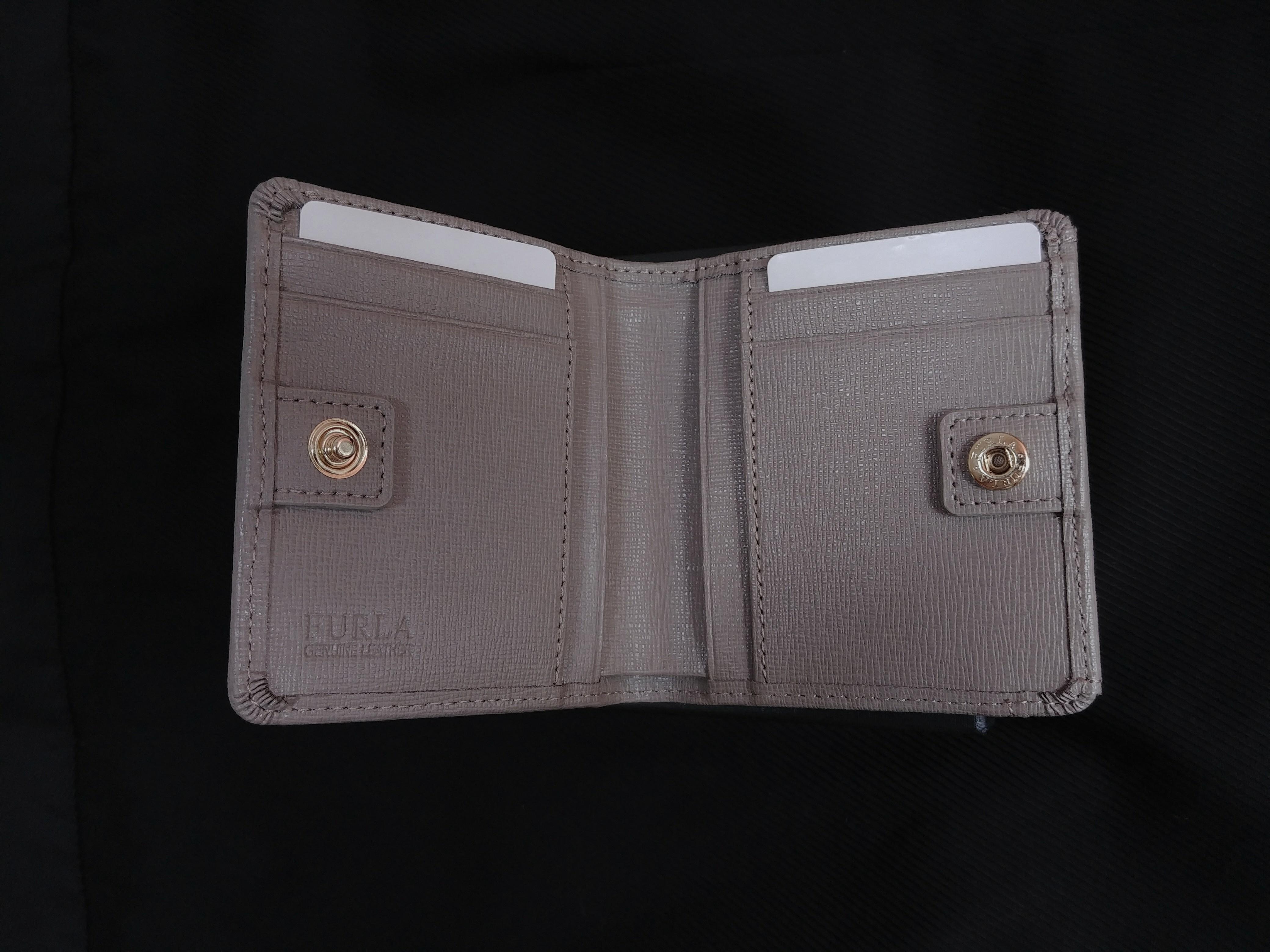 Furla 雙摺 短銀包 灰色 Bi-Fold Wallet