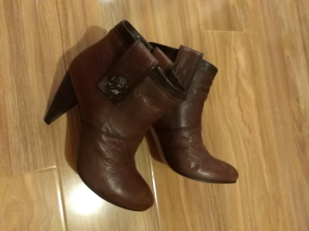 Genuine Miss Sixty Leather boots size 6/6.5 EU36/36.5