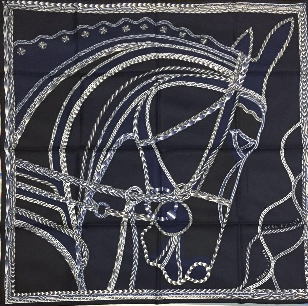 Hermes Silk Scarf 90cm