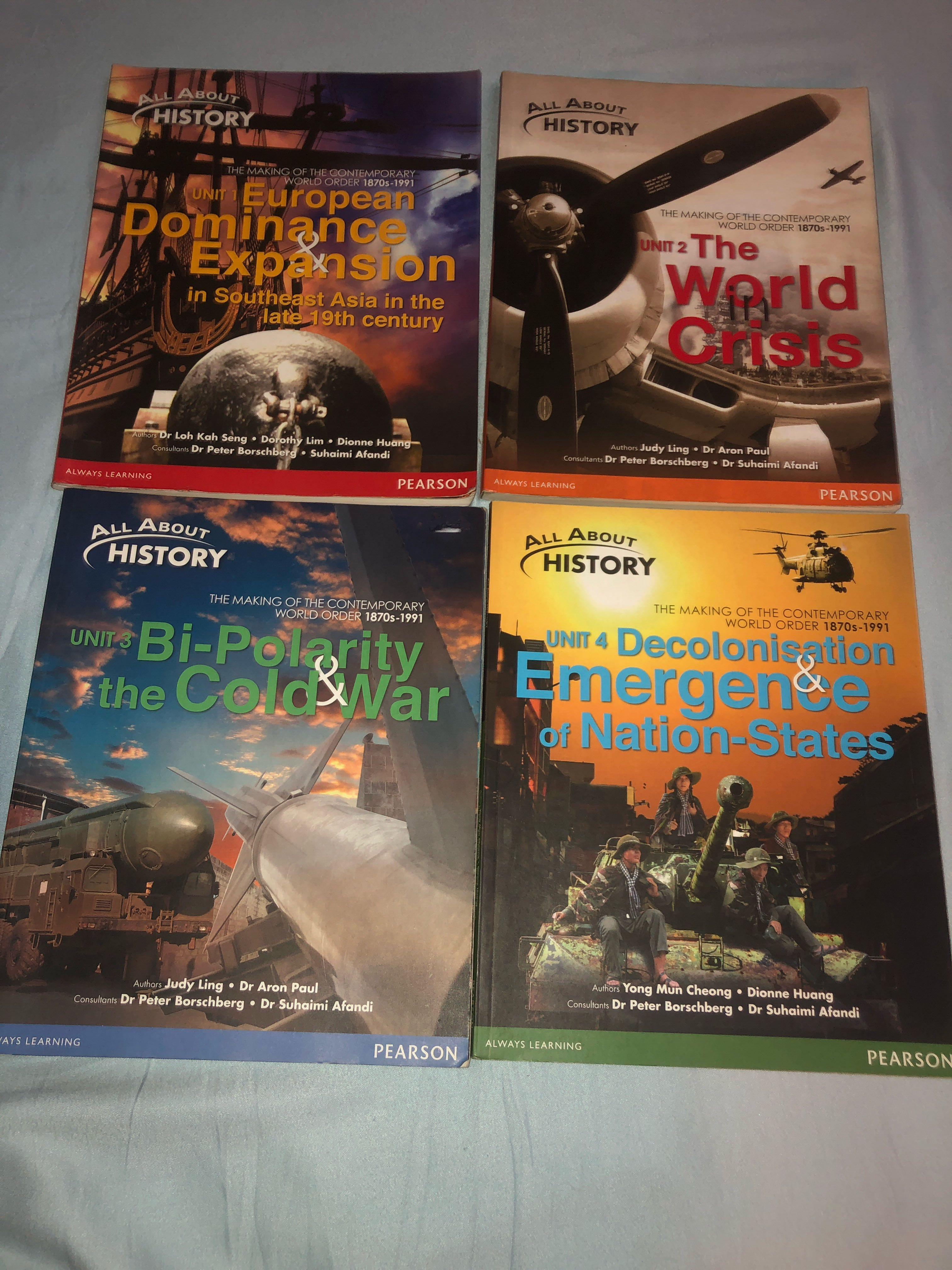 History textbooks [CLEARANCE]
