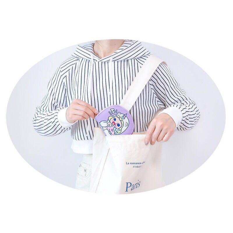 [Instock] Cutie Girl [Ah Unicorn] Card Holder Pouch By Milkjoy