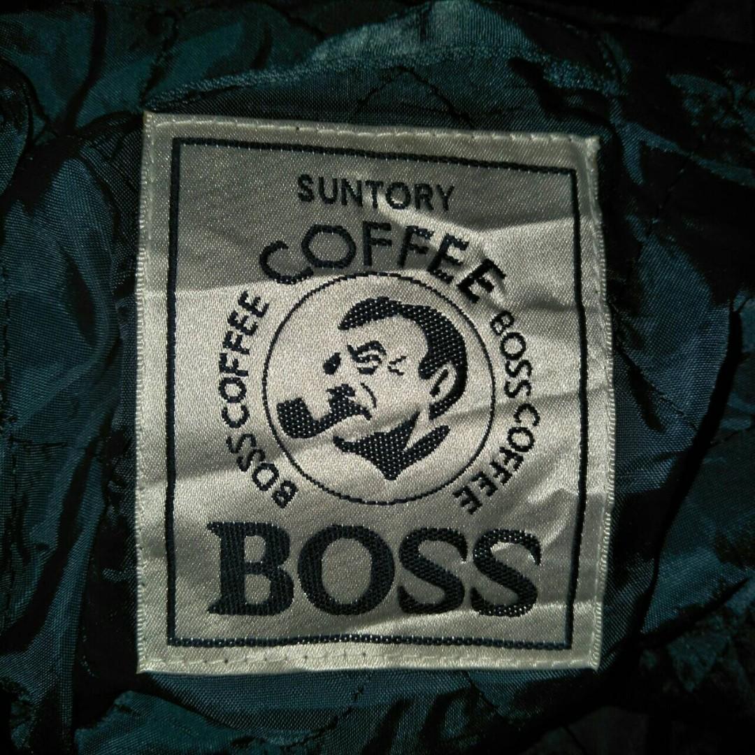 jaket bober suntory boss coffee