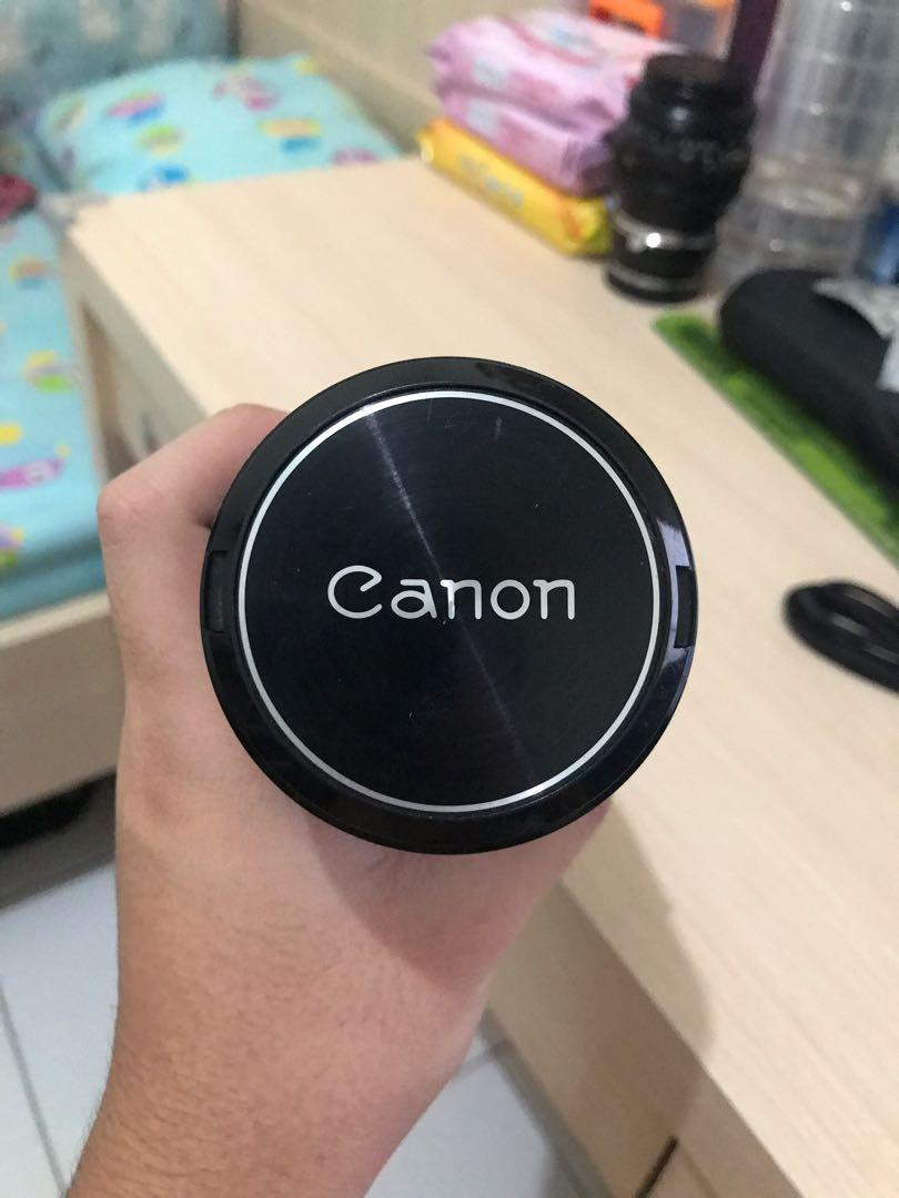 Jual lensa Canon made in japan FD 200mm f4