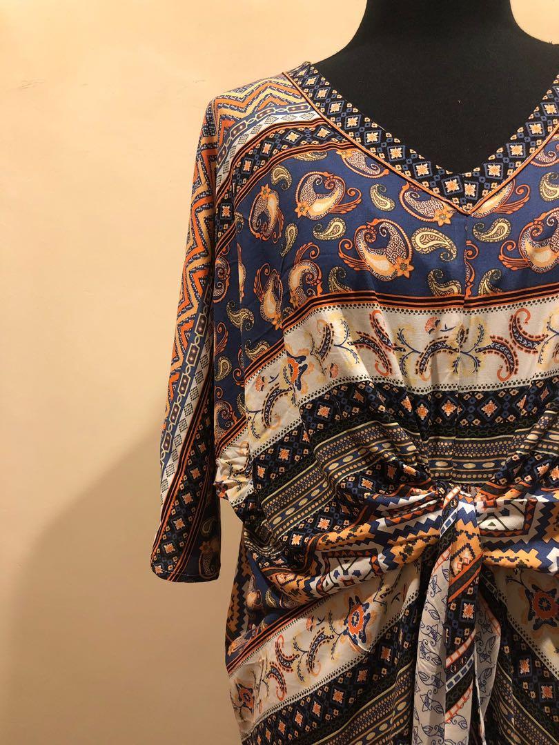 Kaftan  / Dress Ikat NEW