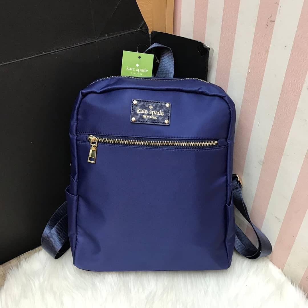 Katespade backpack nylon zipper