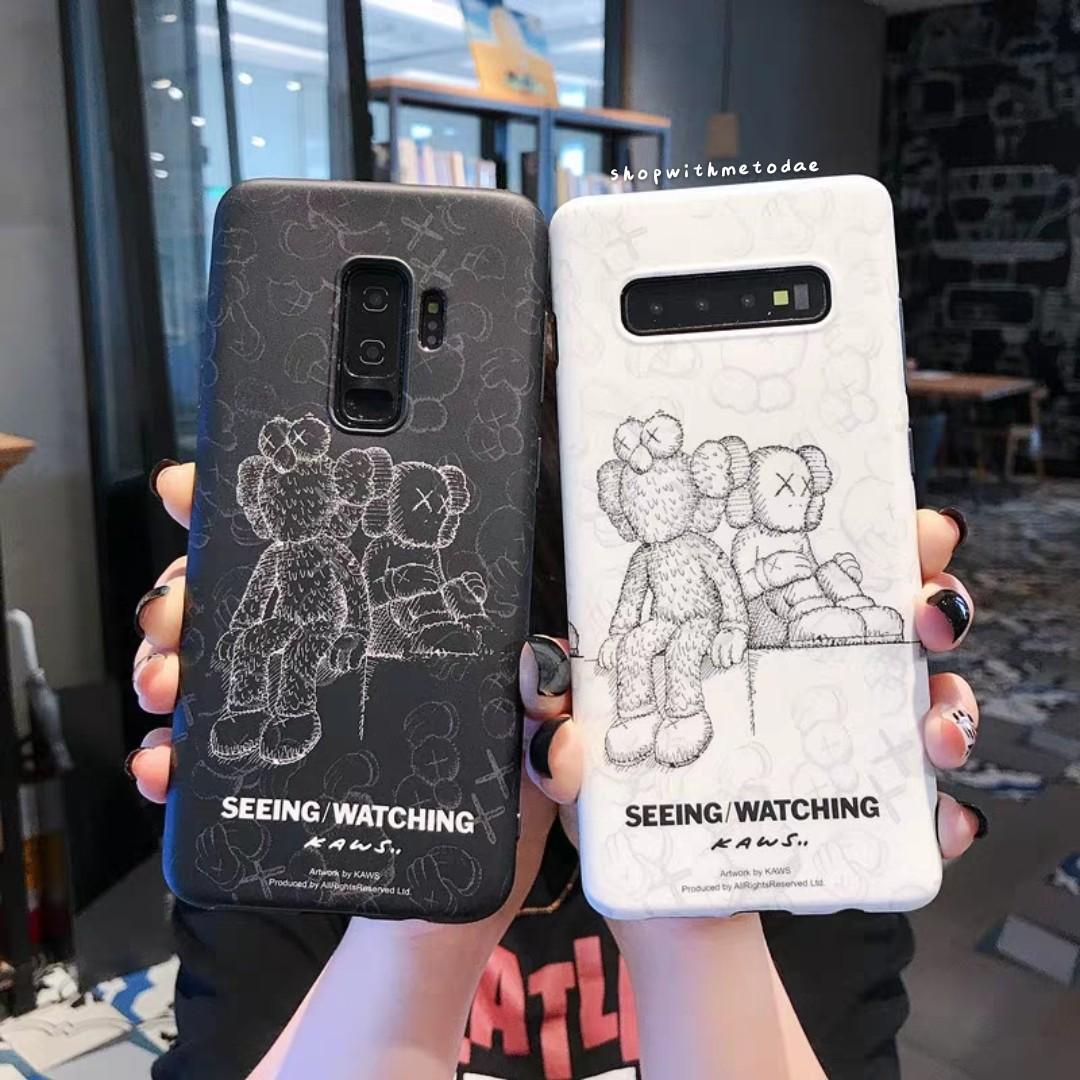 Kaws Elmo Samsung S10 / Note 9 / 8 / S9 plus / S8 casing
