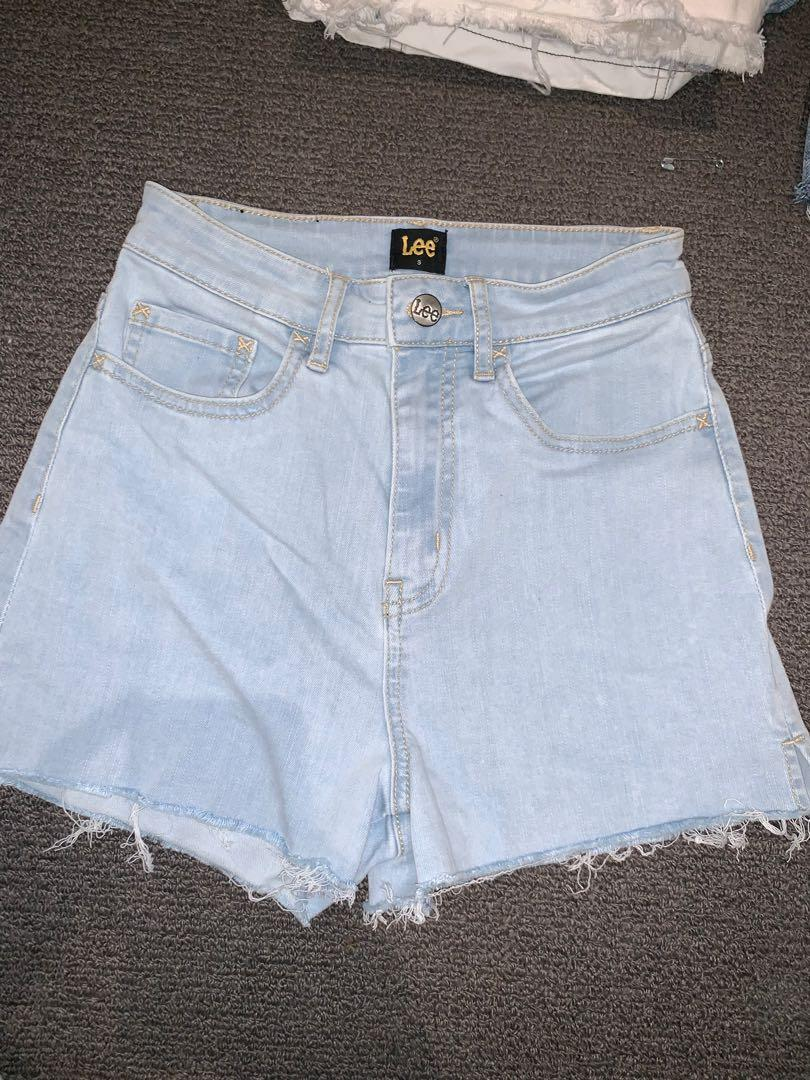 Lee denim shorts
