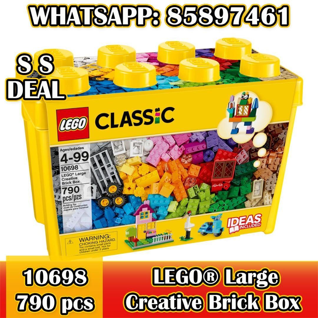 LEGO LEGO Classic LEGO Large Creative Brick Box 10698 🎁SS